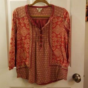 Lucky Brand Tops - Lucky brand pattern shirt